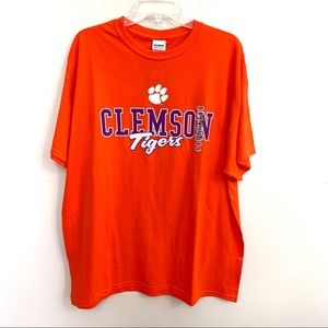 Clemson Tigers Men's Short Sleeves Tee Shirt